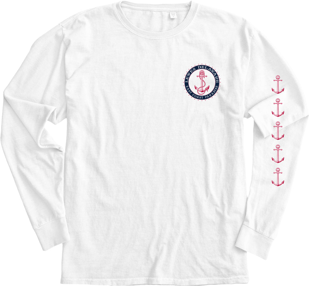OUT BREAK ANCHOR COMPASS LONG SLEEVE TEE