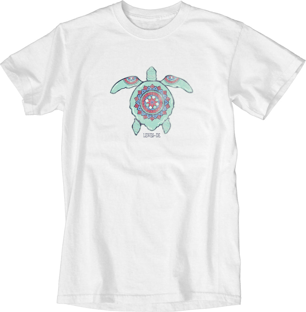 DEEPER MEANING SEA TURTLE TEE