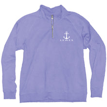 Load image into Gallery viewer, MATRON ANCHOR QUARTER ZIP