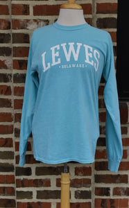 LEWES BLOCK LONG SLEEVE TEE