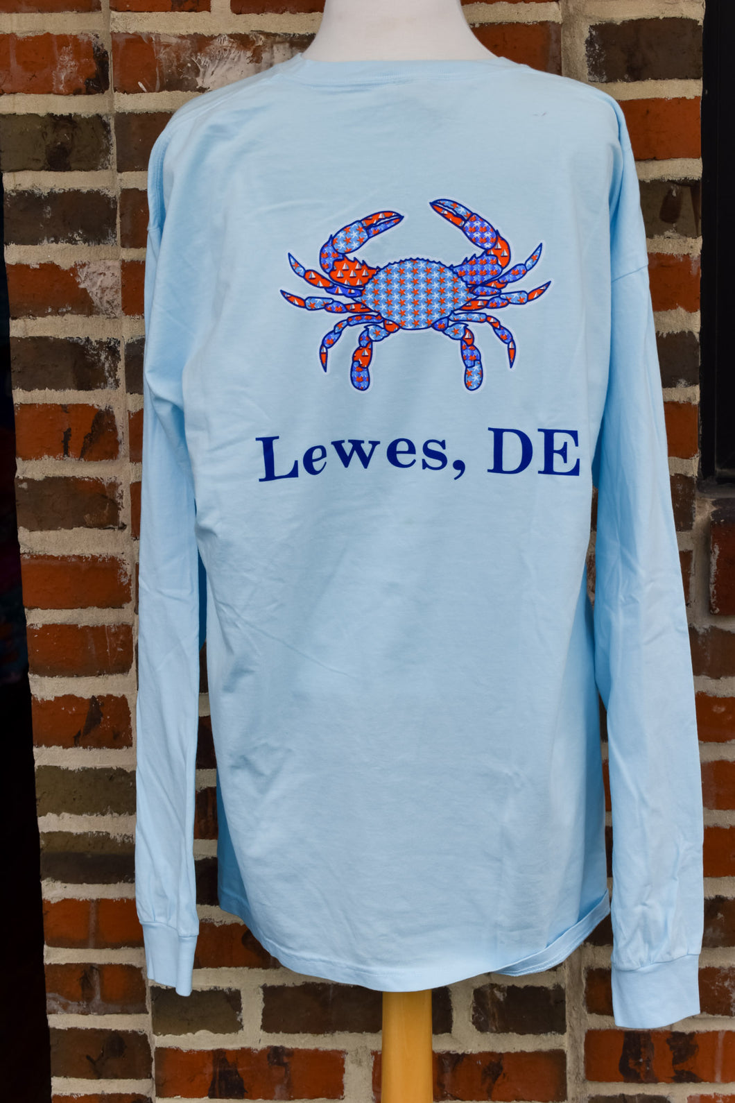 PATCH CRAB LONG SLEEVE TEE