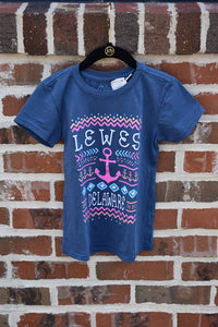 KIDS QUADRUPLE ANCHOR TEE