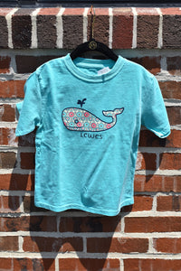 KIDS WISH LIST WHALE TEE