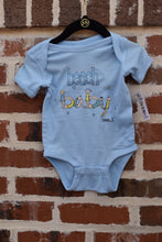 Load image into Gallery viewer, LEWES DE BEACH BABY ONESIE