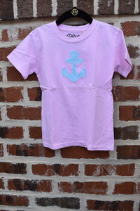 KIDS GROVER ANCHOR TEE