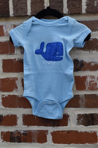 INFANT GROVER WHALE ONESIE