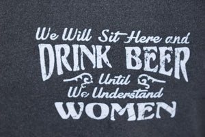 DRINK WOMEN MEN'S TEE