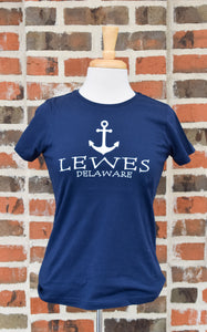 LADIES TAG LINE ANCHOR TEE