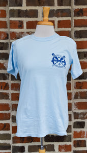 CROSSED OARS DOG TEE