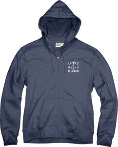 ACETONE ANCHOR CREST ZIP UP HOODIE
