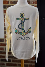 Load image into Gallery viewer, FLORAL ANCHOR LONG SLEEVE TEE