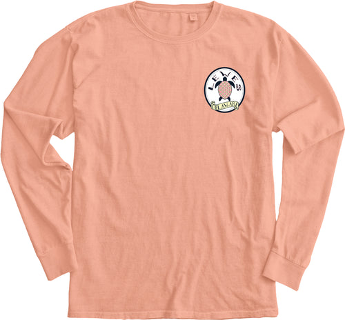 MAKE A MOVE TURTLE SHELLS LONG SLEEVE TEE
