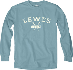 CREWIN IT PRINT LONG SLEEVE TEE