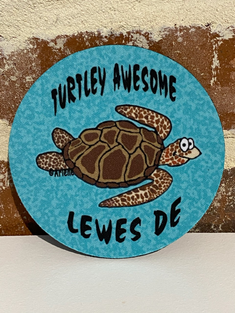 LEWES TURTLEY AWESOME COASTER