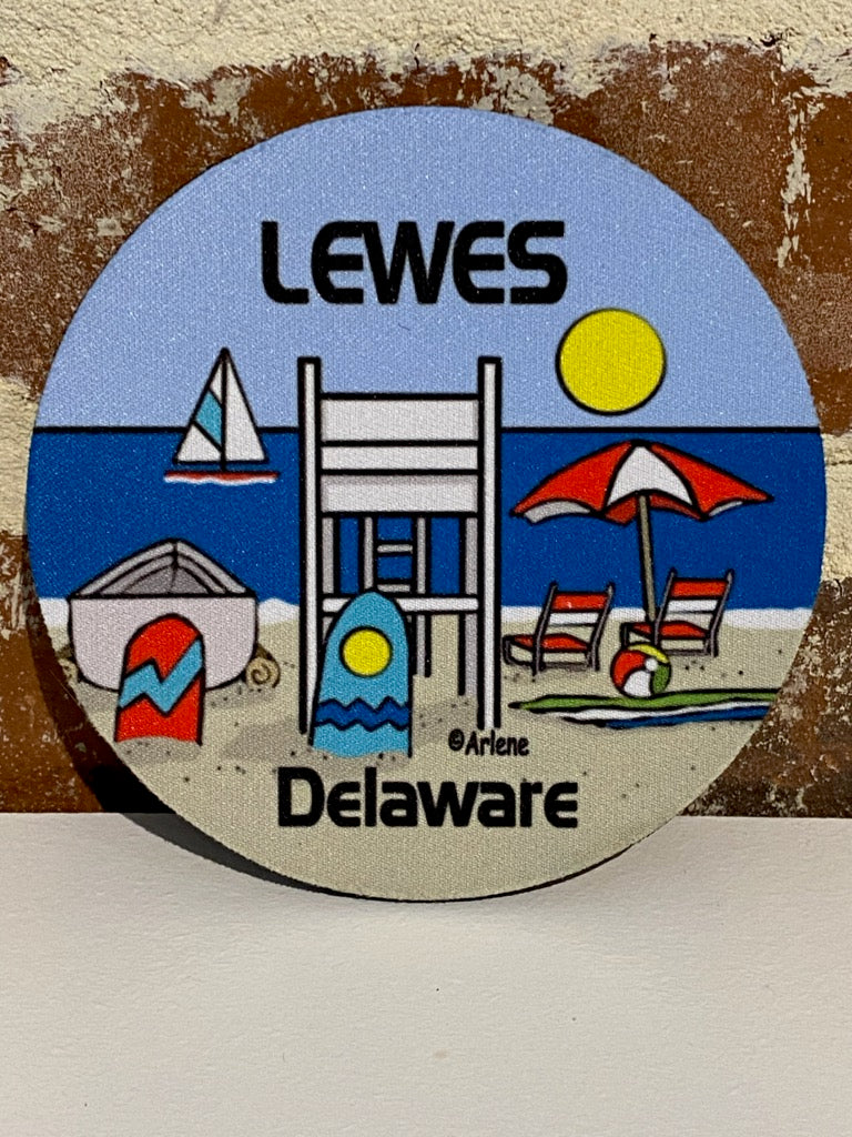 LEWES DELAWARE COASTER