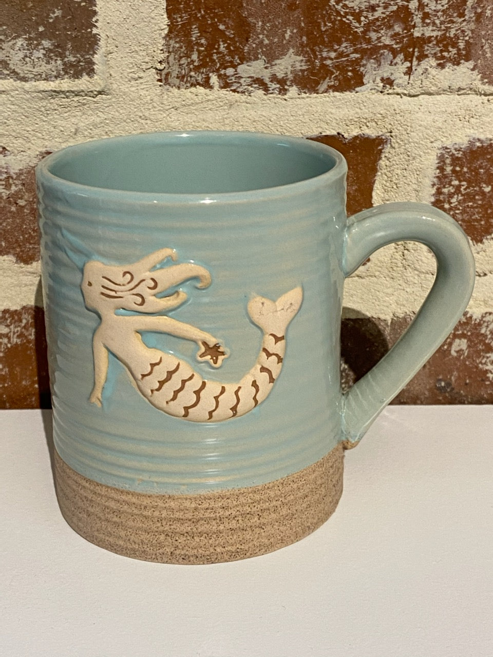MERMAID AT HEART STONEWARE MUG