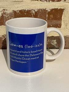 LEWES DEFINITION MUG