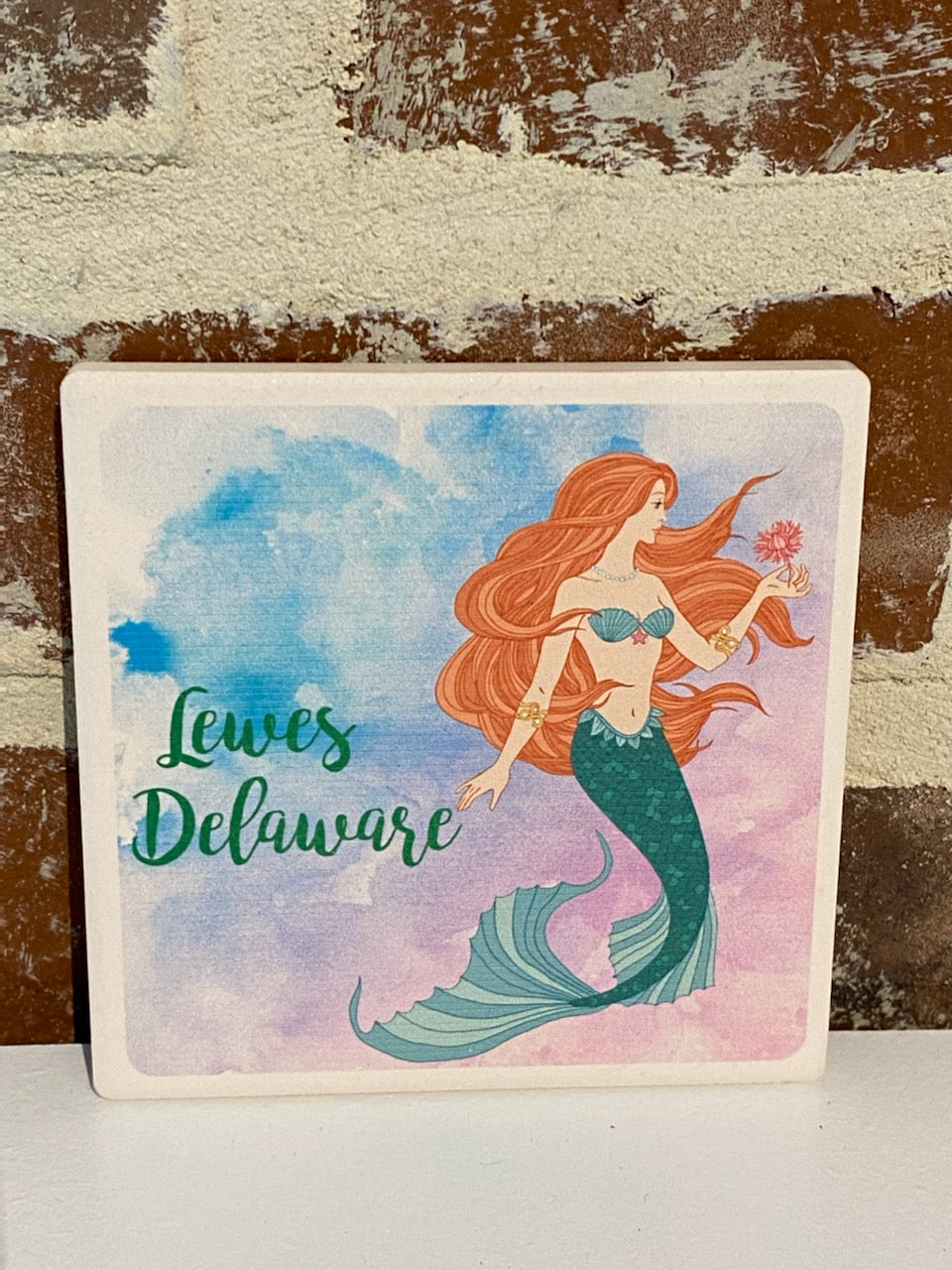 STONE COASTER WHIMSY MERMAID