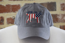 Load image into Gallery viewer, KENNEL CLUB LAB/US FLAG HAT
