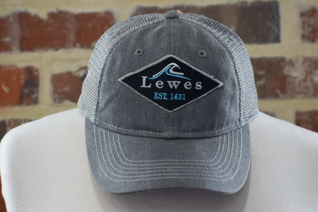 LETTERHEAD WAVES TWILL PATCH HAT