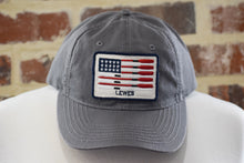 Load image into Gallery viewer, SKIMMED FLAG/OAR TWILL HAT