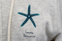 Load image into Gallery viewer, STARFISH ZIP HOODIE