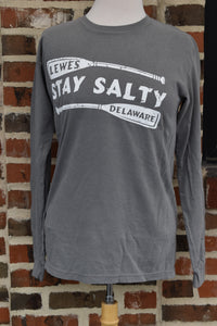 STAY SALTY LONG SLEEVE TEE