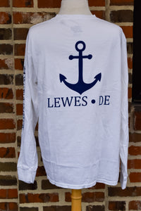 TAGLINE ANCHOR LONG SLEEVE TEE