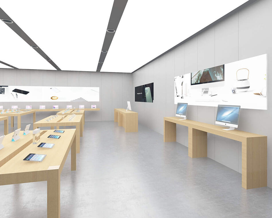 Apple Experience Store Side Cabinet