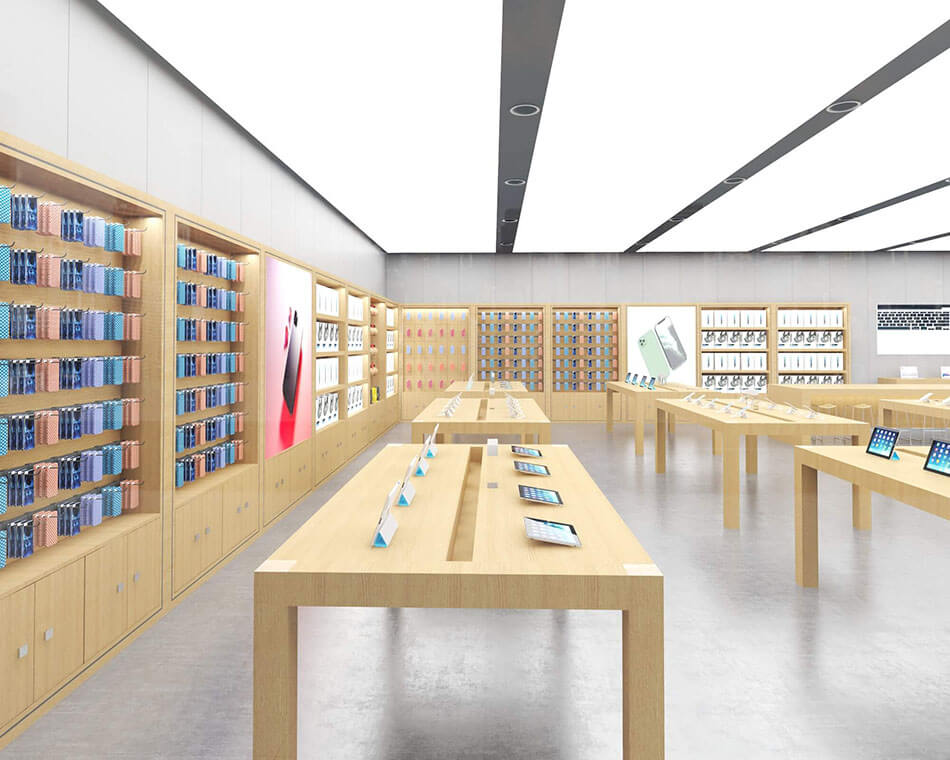 Apple Experience Store Display Cabinet