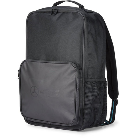 Mercedes Benz AMG Petronas F1 Backpack Black - MBM Accessories Boutique