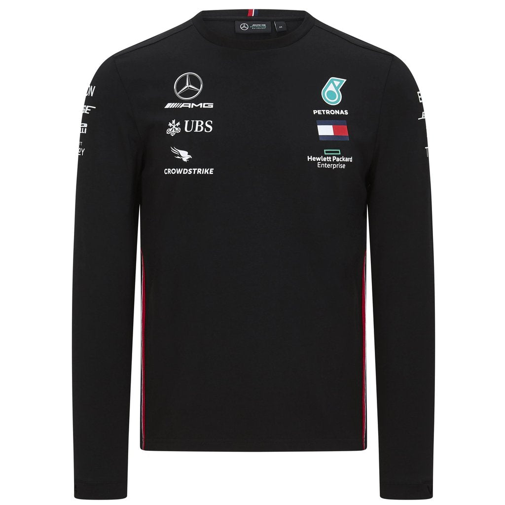 Mercedes Benz AMG Petronas F1 2020 Men's Long Sleeve Team Driver T-Shirt - MBM Accessories Boutique