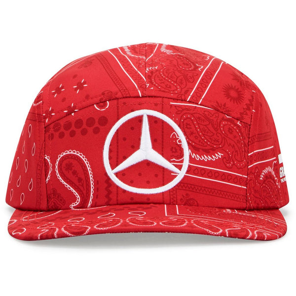 Mercedes Benz F1 Special Edition Lewis Hamilton 2020 British Silverstone Hat Red - MBM Accessories Boutique