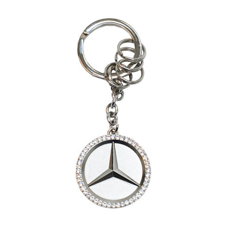 Star Key Ring With Swarovski® Crystals