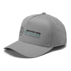 Mercedes Benz AMG Petronas Formula 1 Grey Racer Hat - MBM Accessories Boutique