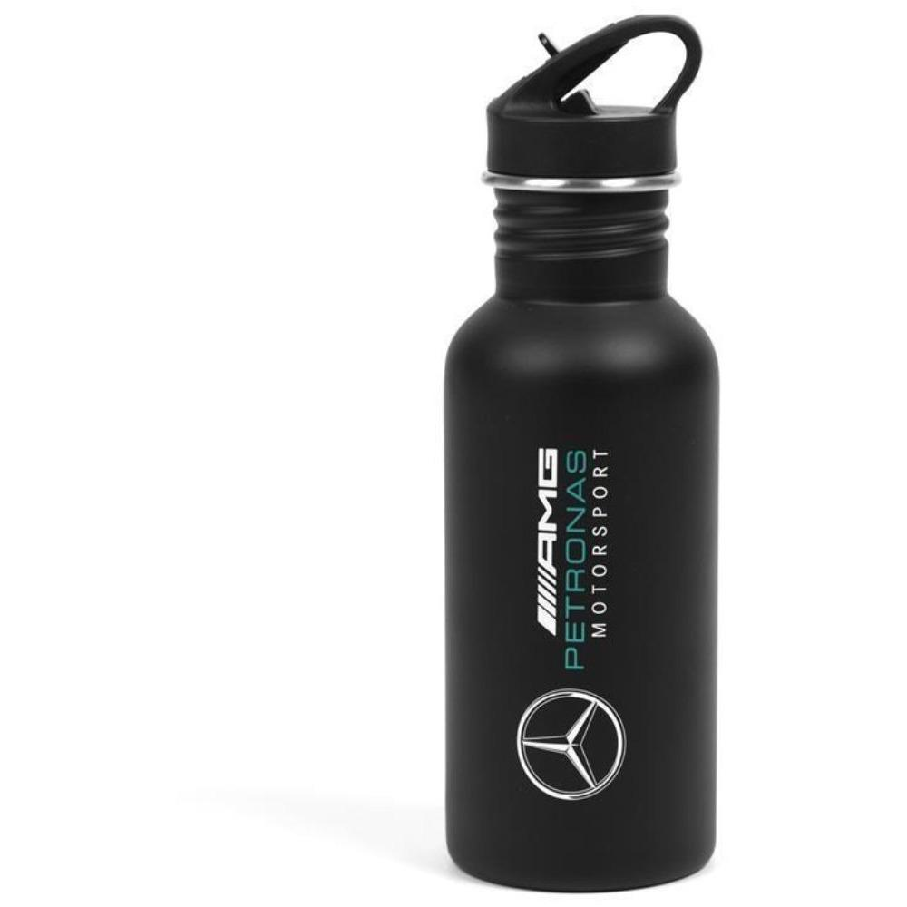 Mercedes Benz Petronas AMG Formula 1 Black Sports Bottle - MBM Accessories Boutique