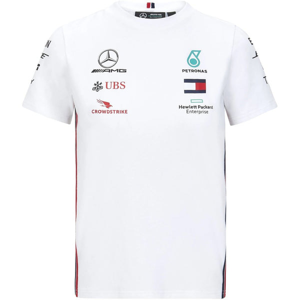 Mercedes Benz AMG Petronas F1 2020 Kids Team T-Shirt