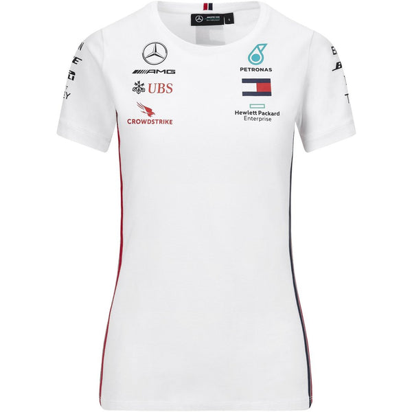 Mercedes Benz AMG Petronas F1 2020 Women's Team T-Shirt - MBM Accessories Boutique