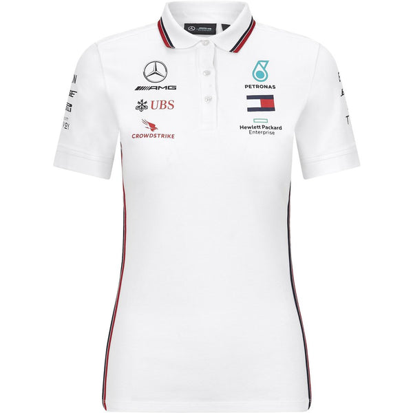 Mercedes Benz AMG Petronas F1 2020 Women's Team Polo - MBM Accessories Boutique