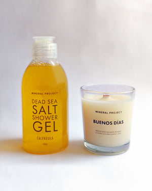 Shower Gel + Candle Set