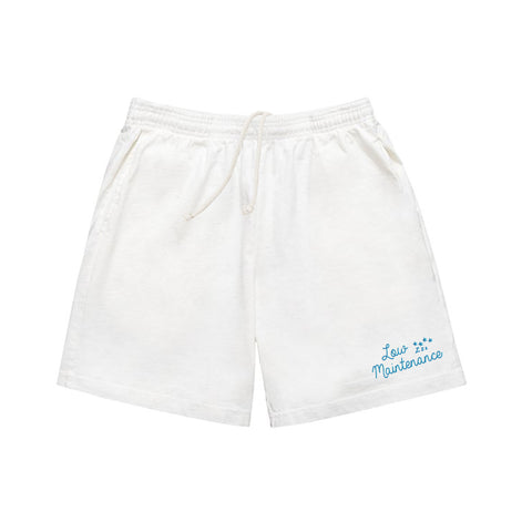 Low Maintenance Shorts Cream Goodnight