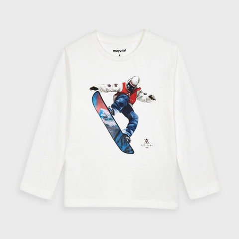 Long Sleeve Snowboard Tee