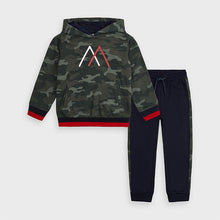 Load image into Gallery viewer, Camo Sweatshirt & Sweatpant Set