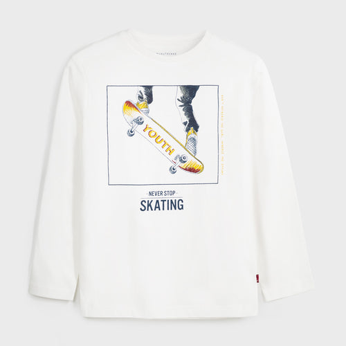 Never Stop Skating Tee