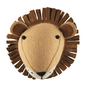 Wool Lion Wall Mount