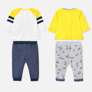 Graphic Tee & Sweatpant Set