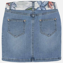 Load image into Gallery viewer, Studded Denim Skirt With Belt