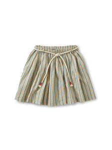 Sparkle Stripe Tie Twirl Skirt