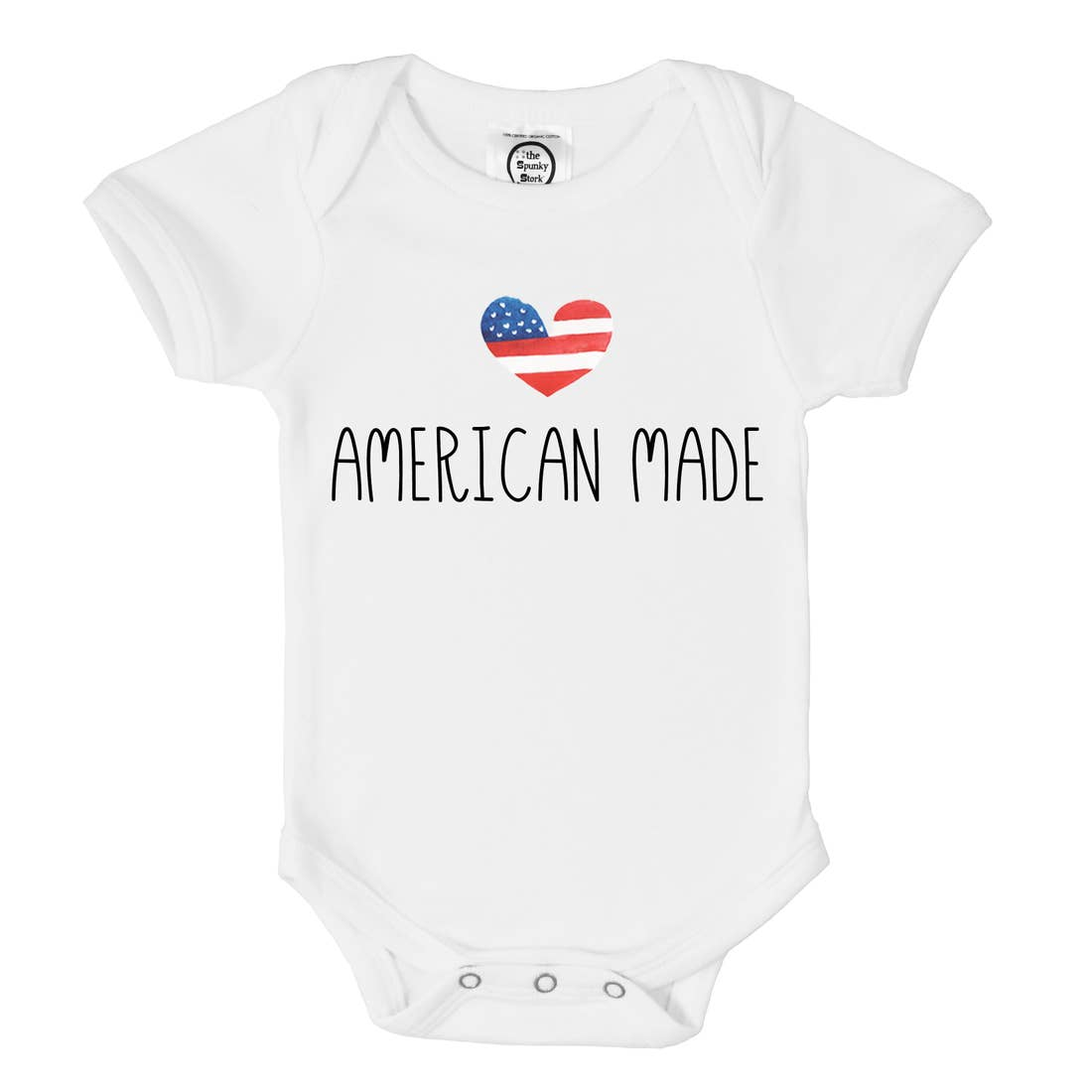 American Made 4th of July Onesie