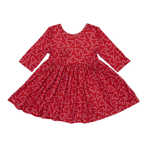 Candy Cane Cutie Twirl Dress